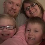 James & Brenda with kids